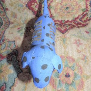 PINK  BLUE Polka Dot Dog NEW