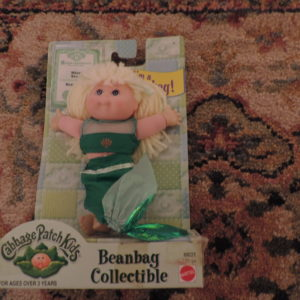 Cabbage Patch Kids Beanbag Collectible Mermaid New
