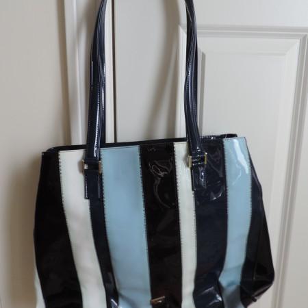 Moschino Patent Leather Handbag NWT