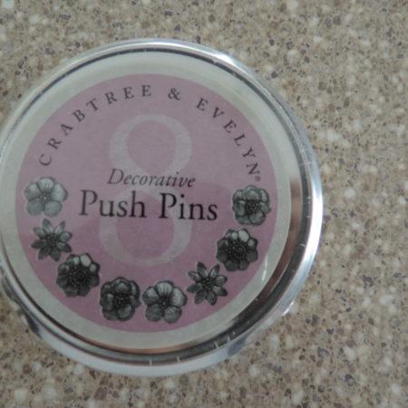 Floral Push Pins NEW