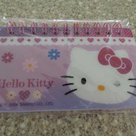 Hello Kitty Mini Lenticular Notebook NEW