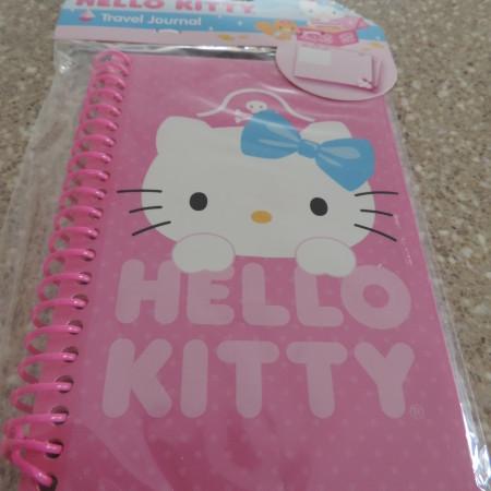 Hello Kitty Travel Journal Pink NEW