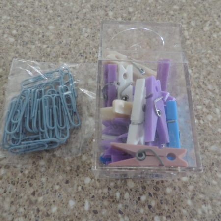 Acrylic Clips & Paper Clips