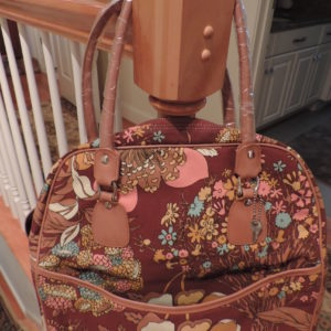 Canvas Floral Tote NEW