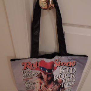 Rolling Stone Magazine Cover Of Kid Rock Tote NEW