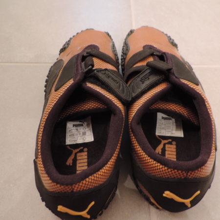 Puma Orange/Black Sneakers New