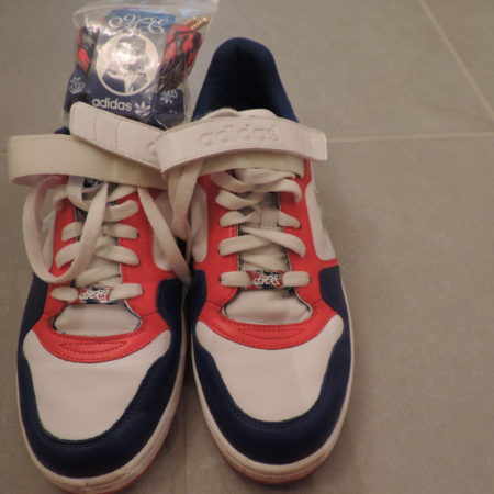 Adidas Missy Elliot Rhythm Lo Sneakers Red/White & Blue