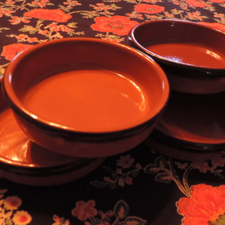 Ramekins Brown Set Of (4)