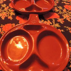 Potato Skin Dishes Set Of (2)