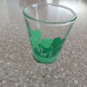 Shot Glass – Shamrocks