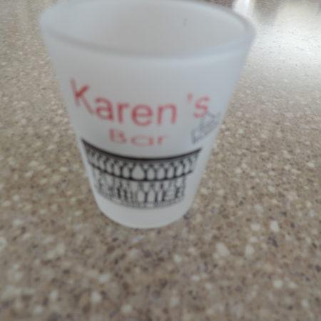 Shot Glass – Karen's Bar