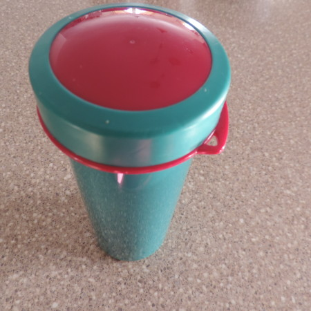 "Tupperware 'Drinking Flask""  NEW"