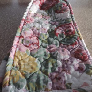 Floral Cloth Appliance Cover 14″ Tall