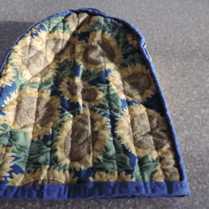 Sunflower Cloth Appliance Cover 10 1/2″ Tall