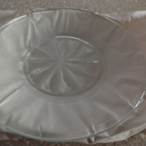 Glass Plates (4) 6″  NEW