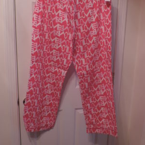 "Pajama Pants ""LOVE"" –Old Navy >size XL New"