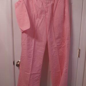 Pajama Pants Stripe Snap Front W/travel Pouch — Bath & Body Works >size L/XL