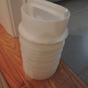 Tupperware – Vintage Hamburger Maker/press