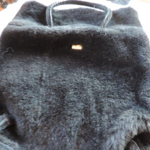 Handbag – Black Sheepskin