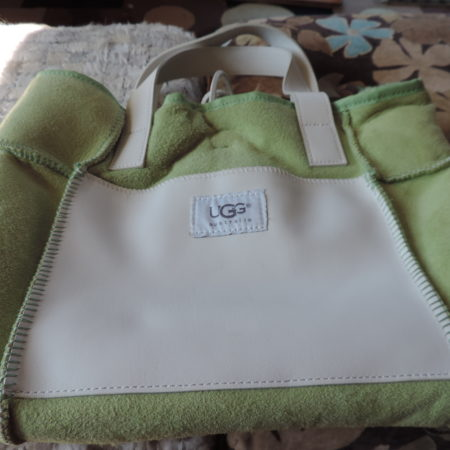 Ugg Green Tote Handbag NEW