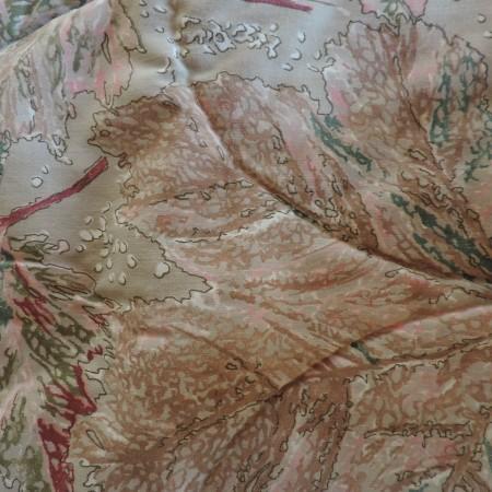 Pillow Sham (1) Burgundy Colors Standard Size
