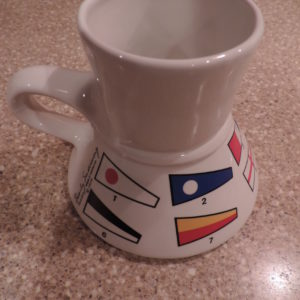 Coffee Mug Small Signal Flag Mug