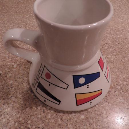 Coffee Mug Small Signal Flag Mug
