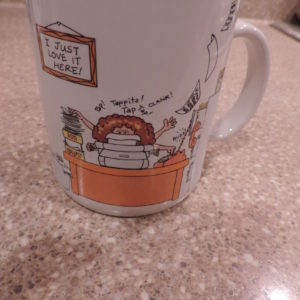 "Coffee Mug "" How To Get Along @ The Office ……"""