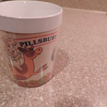 Mug — Pillsbury Cookies Collectible Plastic