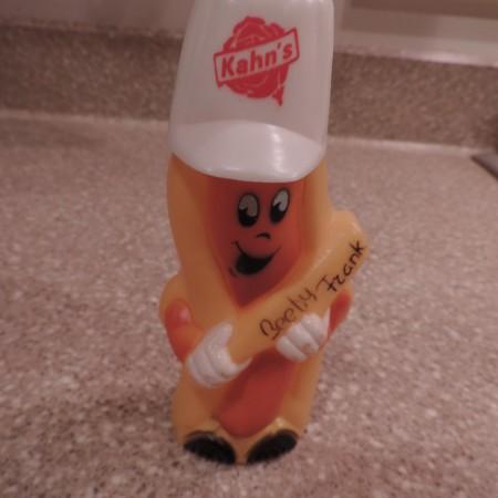 Kahn's Hot Dog Collectible Dispenser Plastic NEW