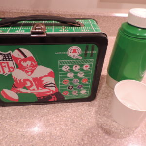 Lunch Box & Thermos – NFL Metal