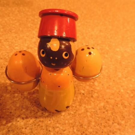 Salt & Pepper Shaker Vintage Wooden —