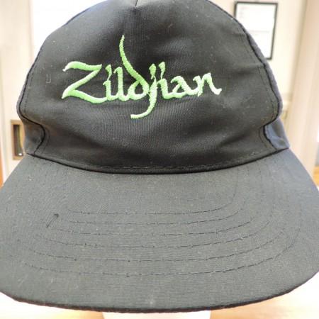 Black Cap Zildjian In Green Embroidery NEW