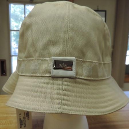 Gucci Gg Cream Cotton Bucket Hat NWT