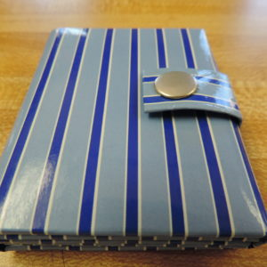 Photo Album Mini Stripes– Holds 3 Photos And Snaps Shut NEW