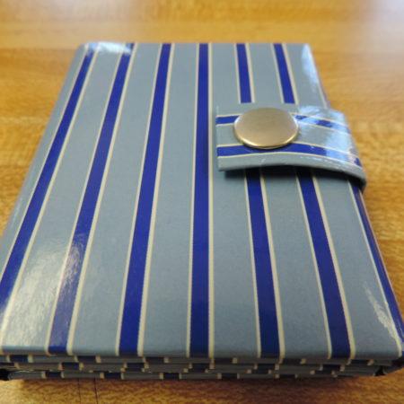Photo Album Mini Stripes– Holds 3 Photos And Snaps Shut NEW
