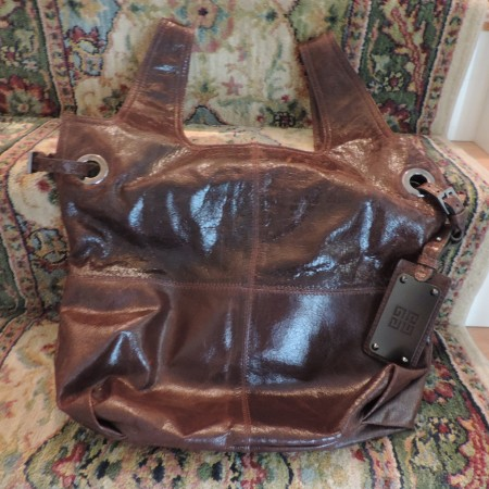 Givenchy Chocolate Brown Leather Bag NEW