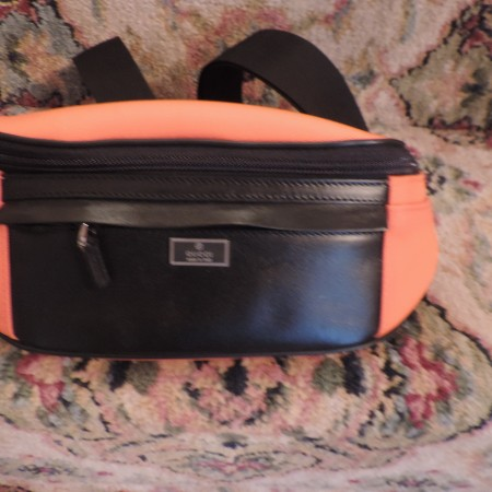 "Gucci ""Orange & Black"" Fanny Pack NWT"