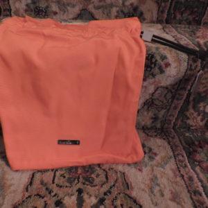 Gucci Orange Drawstring Pouch 15″ High NWT