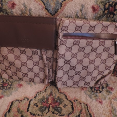"Gucci ""Brown GG""  Fanny Pack NEW"