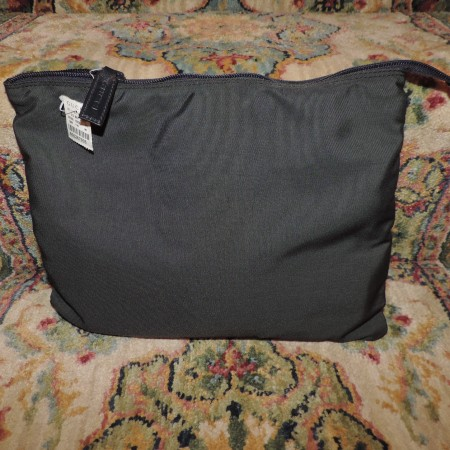 Gucci Gray Nylon Duffel Bag NWT