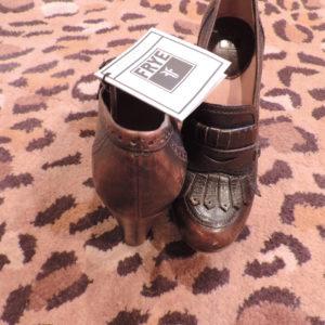 Frye Loafers Size  9 — 4 1/4″ Heel NWT