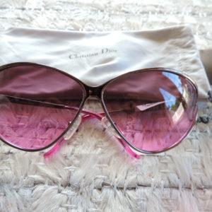 Christian Dior Sunglasses W/case & Book NWT