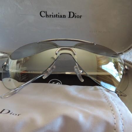 Christian Dior Aviator Sunglasses W/ Sunglass Case, Bag, Box  & Book NWT