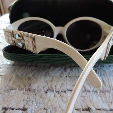 Gianni Versace Sunglasses W/case NEW Vintage