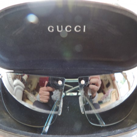 Gucci Sunglasses W/case NEW
