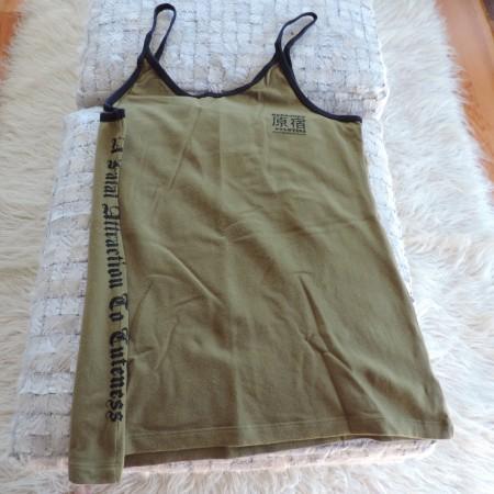Harajuku Lovers Olive Camisole  Size XL