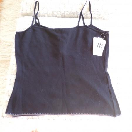 Chloe Stretch Black Camisole Size M NWT