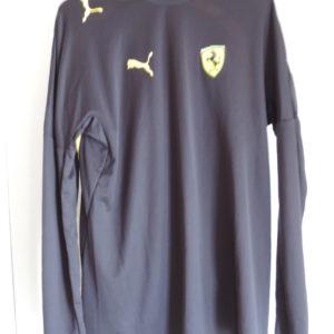 Ferrari Long Sleeve Black Shirt By Puma Size M