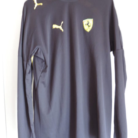 Ferrari Long Sleeve Black Shirt By Puma Size M